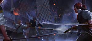 Pirates! by Mischeviouslittleelf