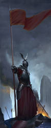 Victorious Knight by Mischeviouslittleelf