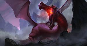 Red Dragon by Mischeviouslittleelf