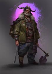Hobo Warlord by Mischeviouslittleelf