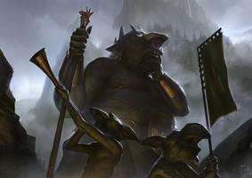 Troll King by Mischeviouslittleelf