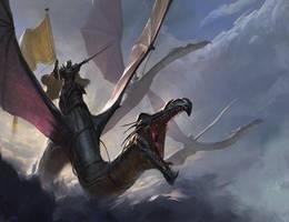 Battle in the Skies by Mischeviouslittleelf