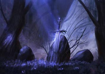The Sword of Midnight by Mischeviouslittleelf