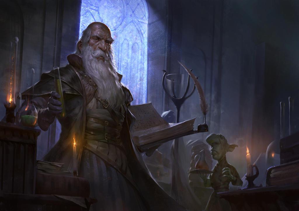 Alchemist's Workshop by Mischeviouslittleelf