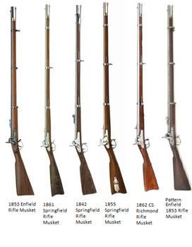 Guns from The American Civil War