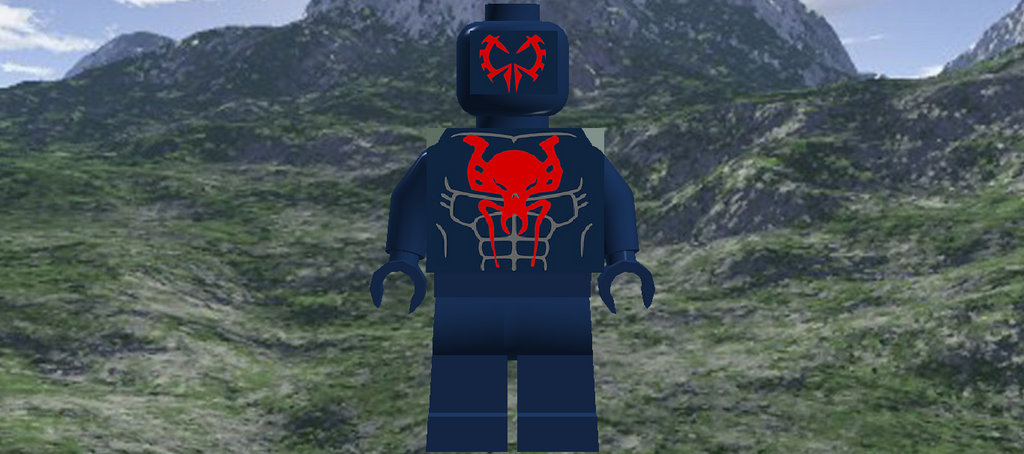 Spider-Man 2099 By Legodecalsmaker961 On DeviantArt