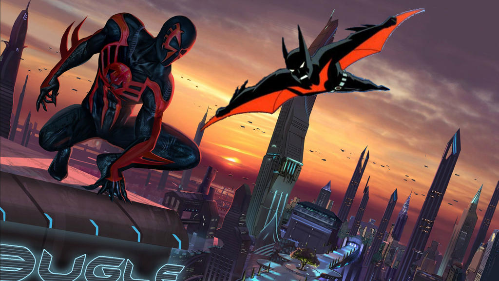 Batman Beyond Meets Spider-Man 2099 By Legodecalsmaker961