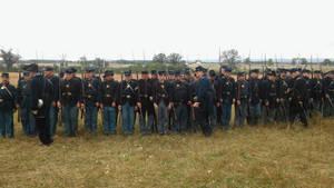 Union Line of Battle
