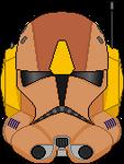 Commander Jet's Phase II Helmet