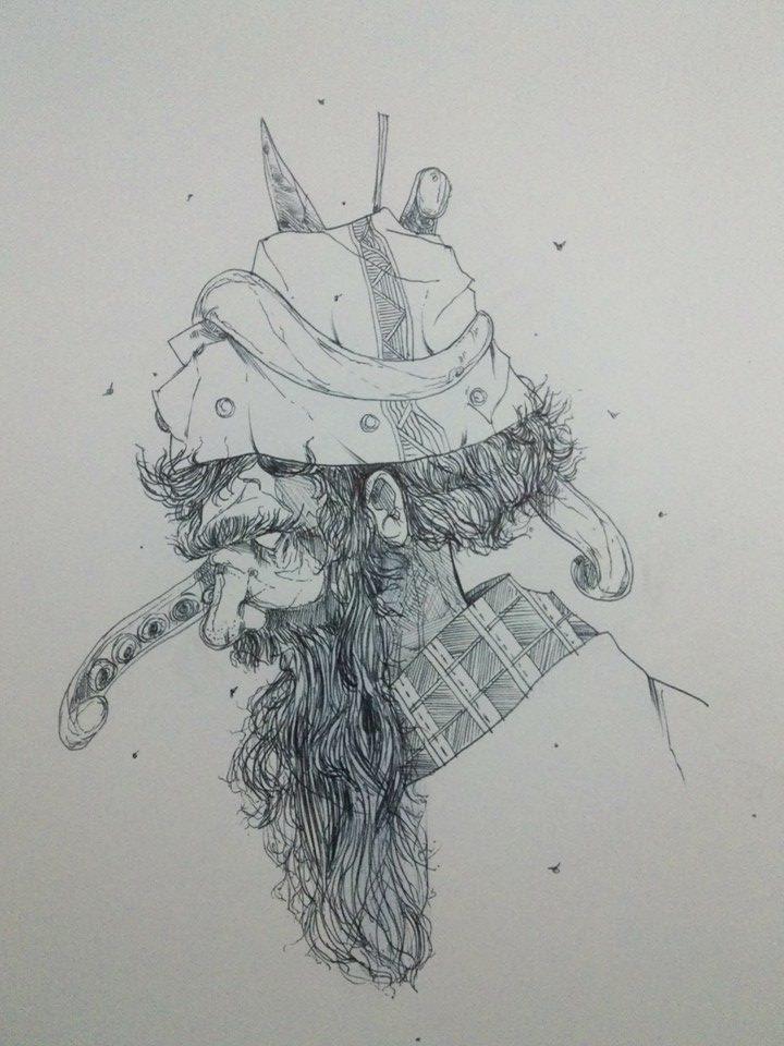 Old man by nasviana