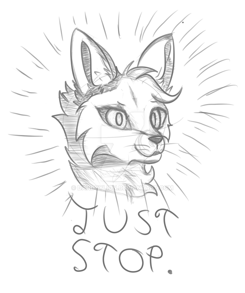 just stop by dandyylion on deviantart