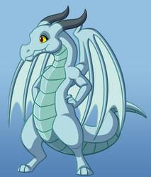 Ida, The Kind Dragon by War-Dyn27