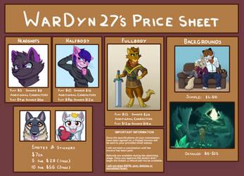 Commissions Open! by War-Dyn27