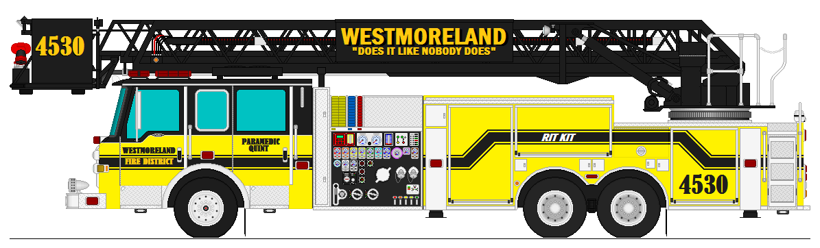 Westmoreland Fire District Quint 4530 By Firefighter171981