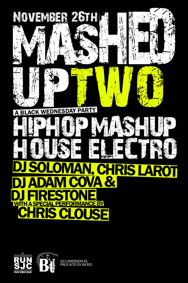 Flyer - Mashed Up by 1NNU3NDO