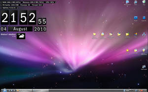 My desktop from 04.08.2010