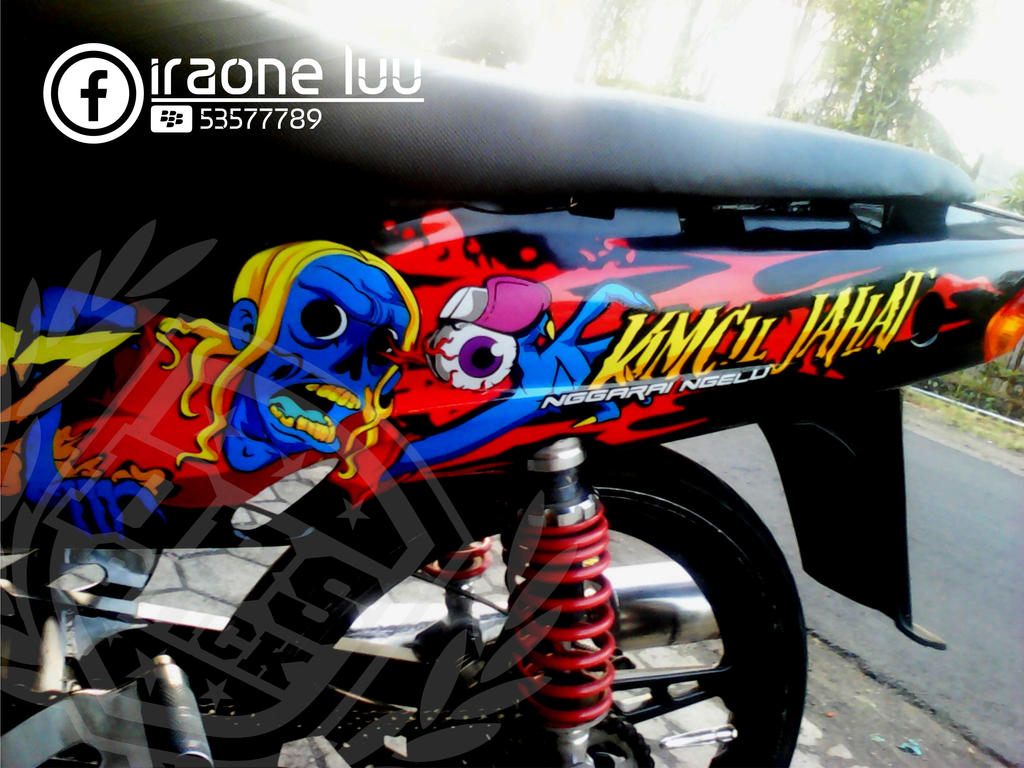 460+ Gambar Cutting Sticker Zombie HD Terbaru