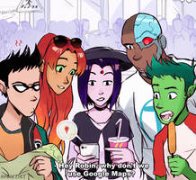 Teen Titans in the city - (Part - 2/2)