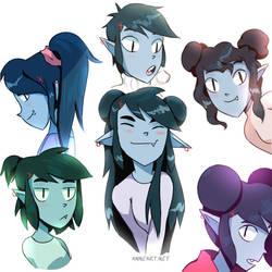 Deena hairstyles