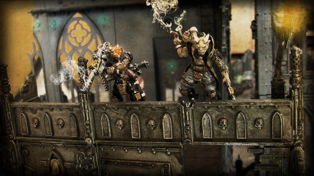 40k beastmen necromunda gang by mayajid on DeviantArt