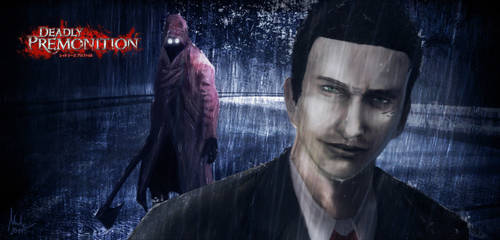Digital Painting - Deadly Premonition