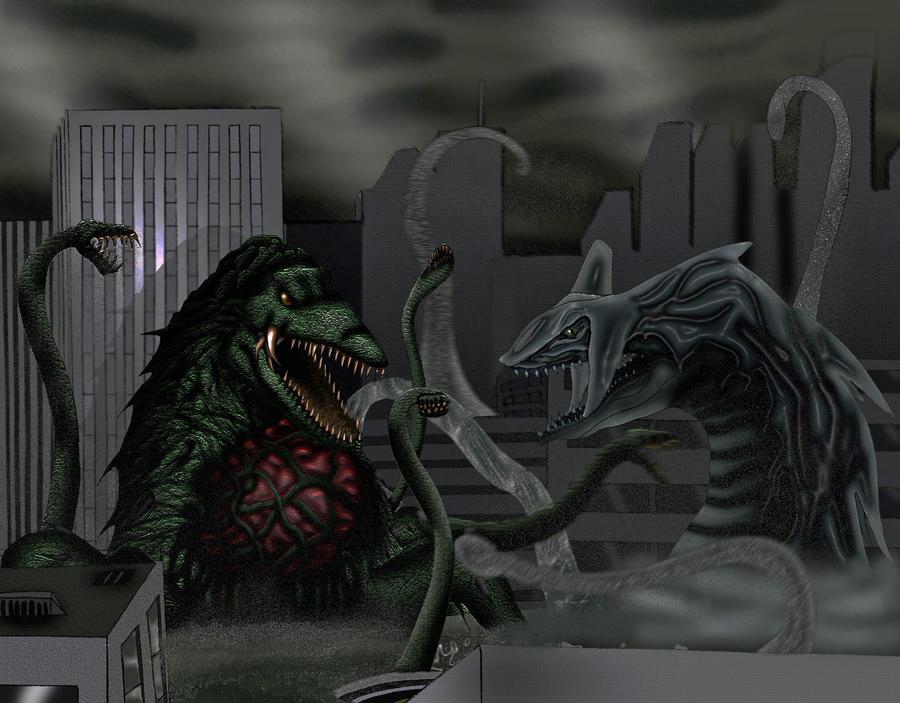 Biollante vs perfect chaos