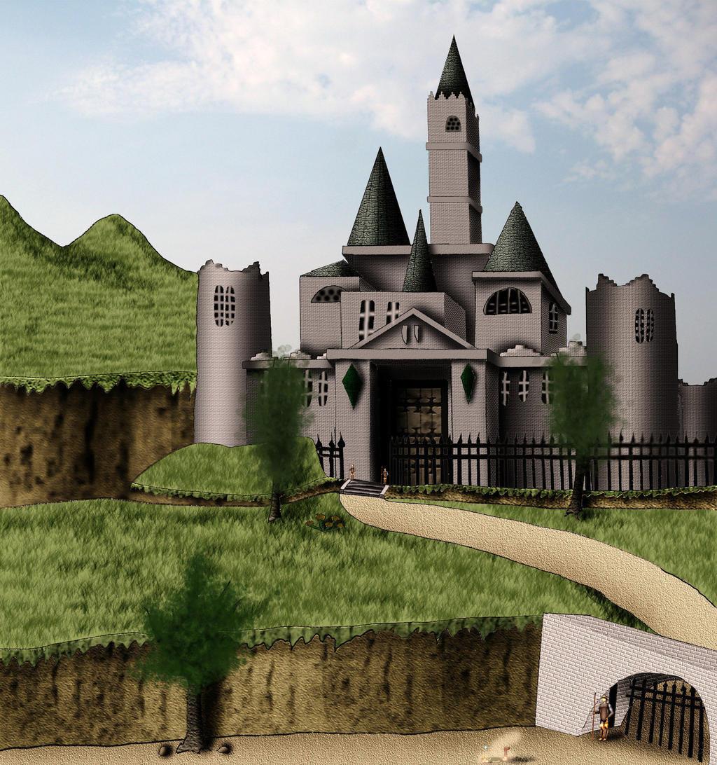 Hyrule Castle (Novelization Ch. 17) by Adiraiju