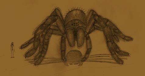 Giant Cave Spider (specus ingens aranea) - 1958