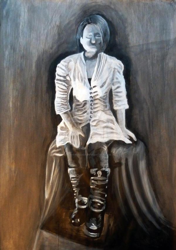 The Woman - Studie- by SpoonSeeker