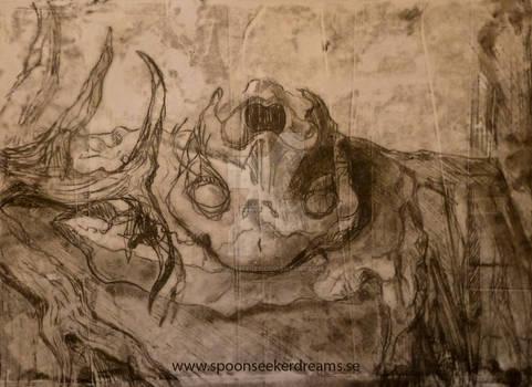 Trace monotyped Skulls 2