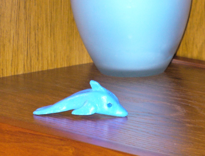 Clay Dolphin by theseadragon
