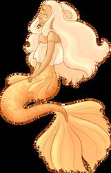 Golden South Sea Pearl by brightlyblue