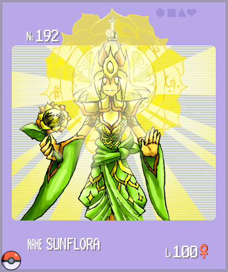 Pokemon Gijinka Sunflora By Radenwa On Deviantart