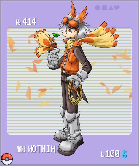 Pokemon Gijinka - Mothim by RadenWA