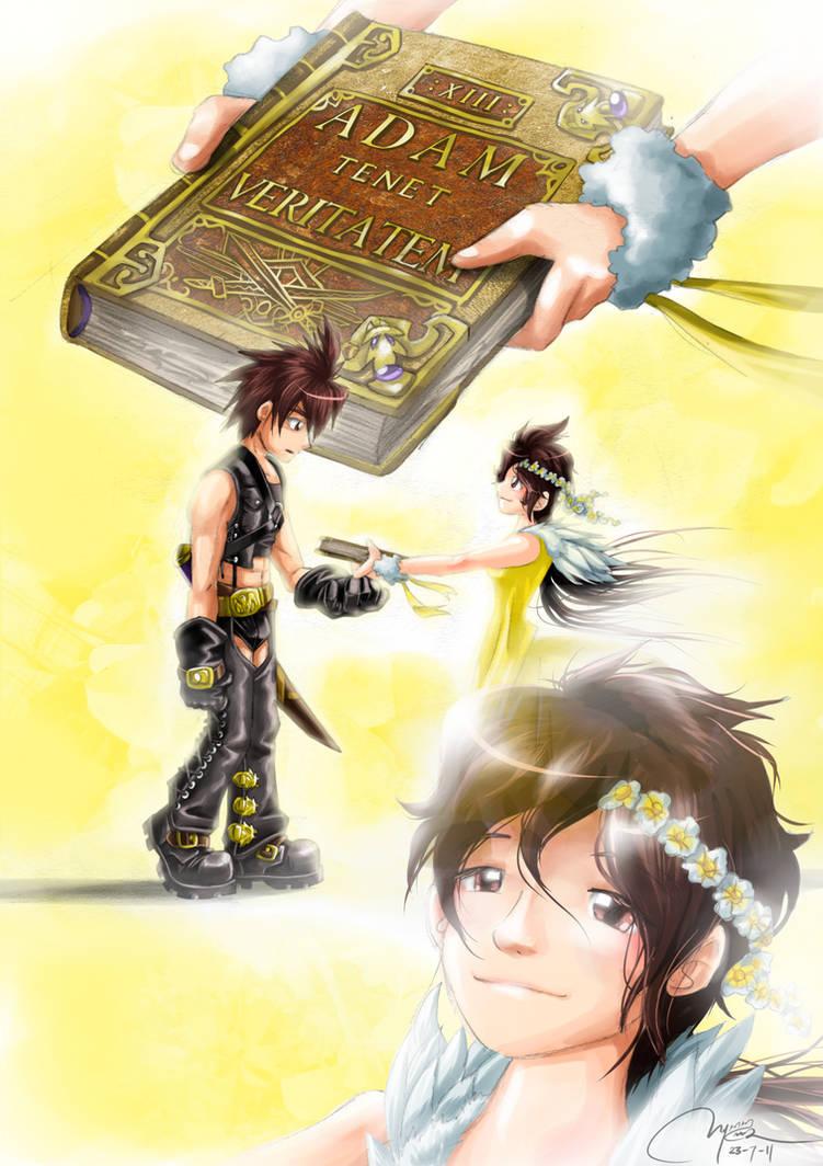 Angelic Companion by RadenWA