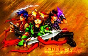 Gun, Sword, Magic, Headbands. by RadenWA