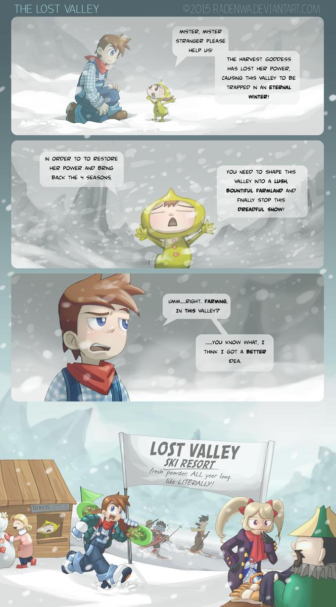 Lost Valley by RadenWA