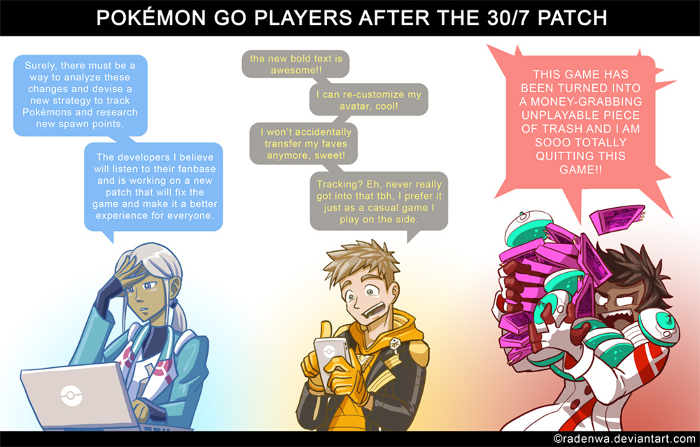 Pokemon Go Latest Patch By Radenwa