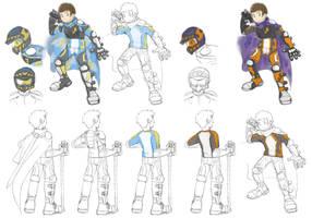 Motocross Knight Concept by RadenWA