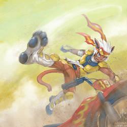 High Jump KICK! by RadenWA