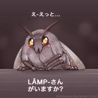 Kawaii Moth-chan by RadenWA