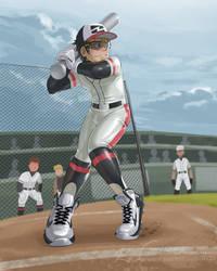 Baseball...latex?? by RadenWA