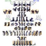 WA's Boots Reference Photo Set