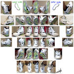Footwear Reference Photo Set - High Tops