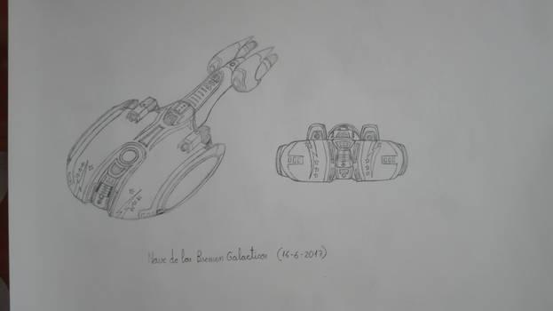 Nave de los bremen galacticos