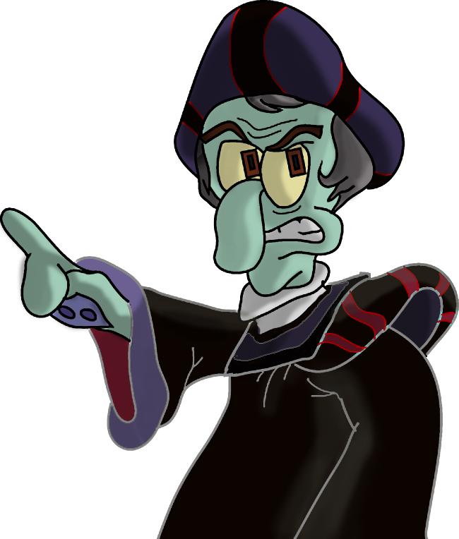 Squidward Frollo By SpongicX On DeviantArt
