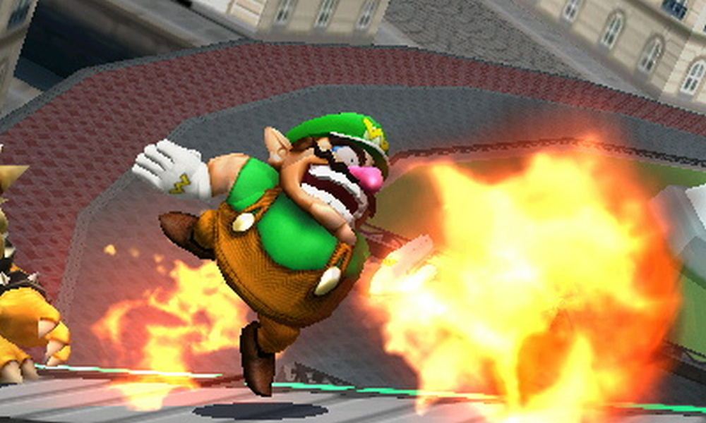 Wario's Flaming Waft by SpongicX