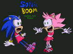 Sonic Boom: Changed Our Minds Comic Cover