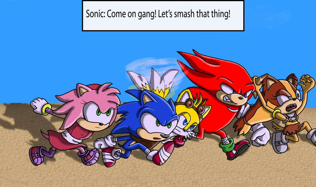 Sonic Boom: Changed Our Minds 2 by SpongicX
