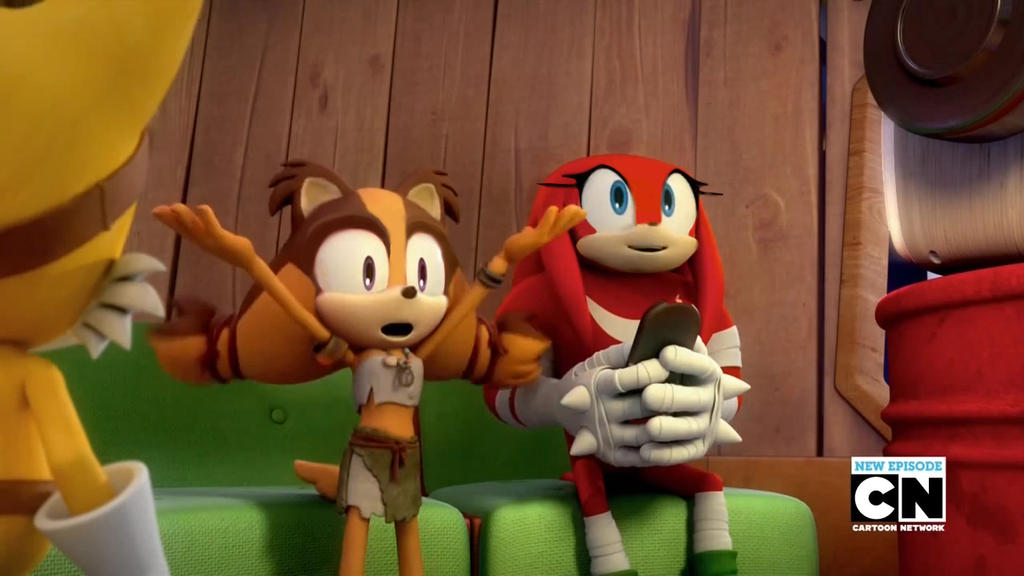 Knux and Sticks faceswap by SpongicX